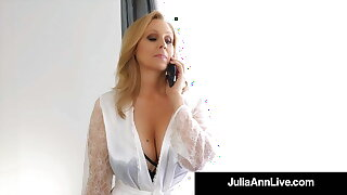 Big Boobed Cougar Julia Ann Only Wants Dick In Her Mature Muff