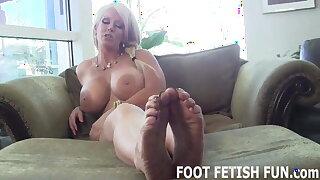 My sensitized warm feet will make you so hard