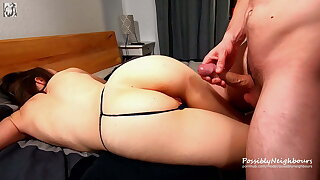 Bro Ruins Younger Step Sister's Life For 5 Minutes of Sex