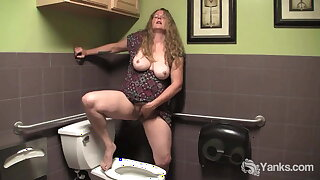 Chesty Yanks, Jane Masturbates her Wooly Pussy