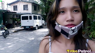 TrikePatrol, Skinny Filipina Hammered By Foreign Cock