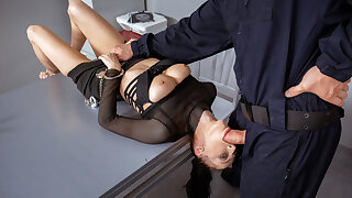 LAW4k. When cops catch a youthful fuckslut they know how to punish