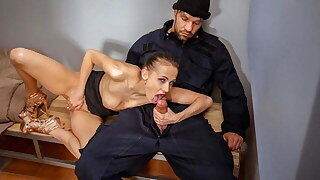 LAW4k. Seductive miss is arrested because of illegal breezy