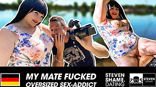 Outdoor fuck for meaty chick Samantha Kiss! StevenShame.dating