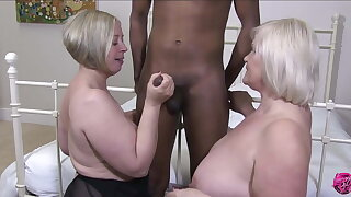 LACEYSTARR - 2 Matures Hot for Black Dick