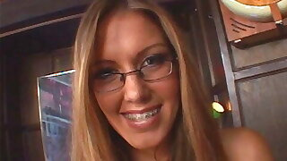 Stepdaughter In Glass And Braces Gets Humped