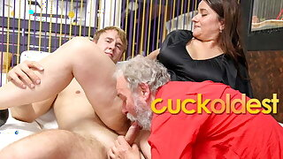 Granddad Wants me to Fuck Him and his Wife