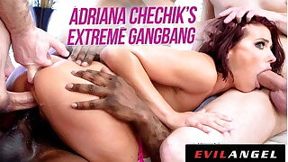 EvilAngel - Adriana Chechik in Extreme Gangbang