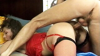 huge-chested stepmom's hairy ass destroyed