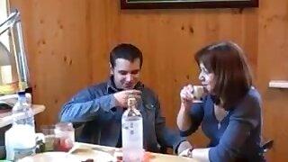 Russian Mom Home Lovemaking Meet 18-Years-Old Guy