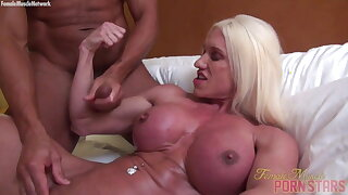 Ashlee Chambers After The Bicep Fucking, The Cum shot