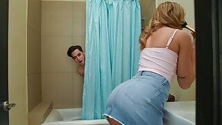 Facial By Surprise! Tiffany Watson - full scene at ebrazz.tv