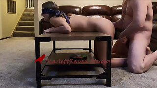 Wife cuckolds husband by inviting a stranger for a threesome