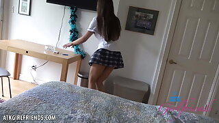 Alexia Anders school girl dream POV 1-2