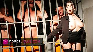 Valentina Nappi, the sexy jail director