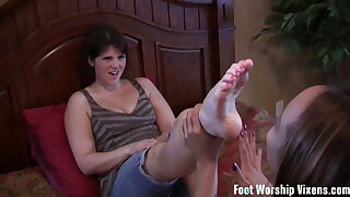 She loves pampering my soles