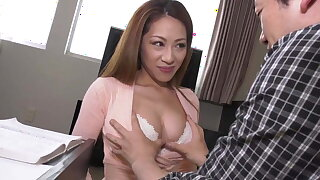 Kanna Kitayama :: Too Big To Work 1 - CARIBBEANCOM