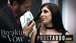 PURE TABOO – Cuckold Husband Meets Online Anal Domme