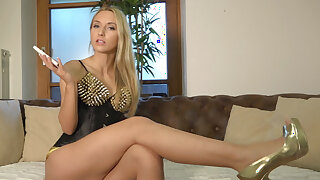 German Femdom JOI: Cum as often as you can