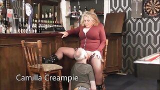 Camilla & Mr. Internal ejaculation in the Pub – Promo