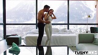 TUSHY, Anal-crazy Ski instructor Liya showcases off her skills
