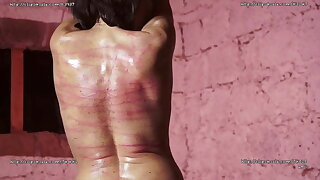 Mummy BULLWHIPPING AND CANING