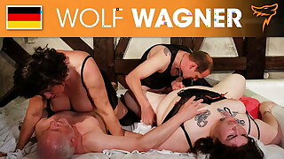 BBW and pals switch partners for a fuck! Wolfwagner.com