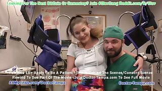 $CLOV Kendra Heart's Gyn Exam, Doctor Tampa & Nurse Lenna Lux