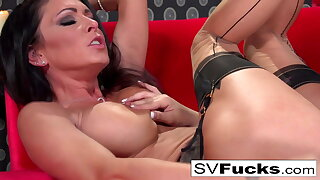 Steaming lesbian activity with Sarah and Jessica