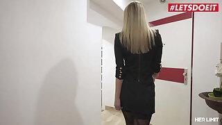 LETSDOEIT - Venera Maxima Has Tough Interracial Anal Sex With Big black cock