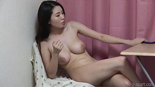 Naked Japanese Girl Hikari with All-natural Big Tits