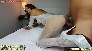 Annabel-Massina: User Treffen! Fick die Catsuit Diva