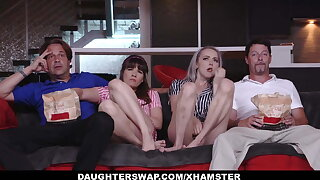 DaughterSwap - Teens Tricked Into Pummeling Dads Best Friend