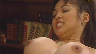Sexy Schoolgirls Hannah Harper and Mika Tan Share Teacher's Humungous Cock FFM