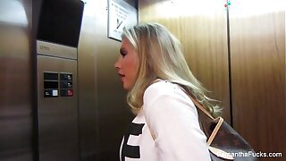 Samantha Saint Strip Club Bts