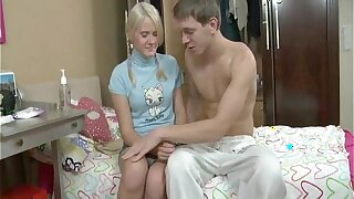 Blonde Russian Teenage Pleads For Anal