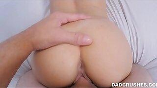 Stepdaughter Lets Dad Cum Inside Her