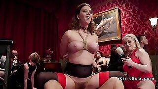 Ass-fuck orgy bondage rough sex party
