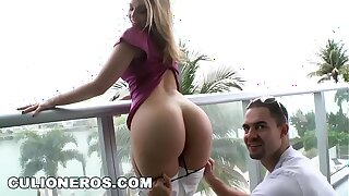 CULIONEROS - PAWG Alexis Texas Gets Her Big Ass Worshipped And Fucked By Mirko