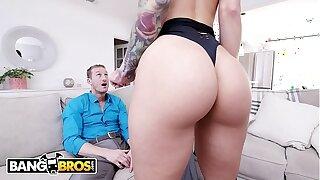 BANGBROS - Sexy Escort Katrina Jade Shows Her Super-naughty Client Ryan McLane A Superb Time