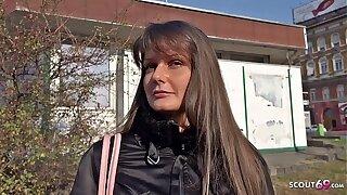 GERMAN SCOUT - ANAL SEX wool Teen Victoria bei echten Casting