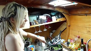 BoatBabesXXX – Cooking Classes With Sexy Lexi – Naked Chef Trains You A Lesson