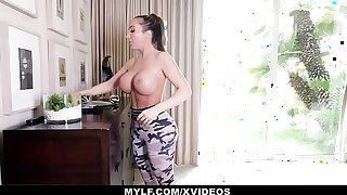MYLF - Enormous Mature Milf Has Hard Rough Sex With Her Stepson