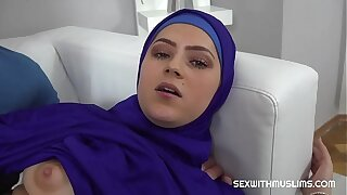 Vain Muslim woman torn up back to reality