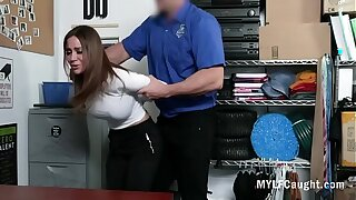 Please Let Go Of Me, Officer- Cougar Pleads- Havana Bleu