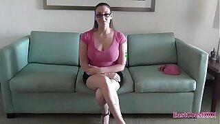 Melanie Hicks - Job Interview Internal cumshot