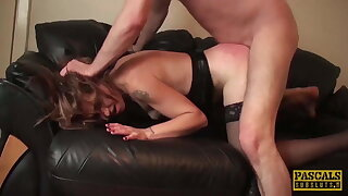 PASCALSSUBSLUTS - Mummy Filthy Emma Dominated After Face Fuck