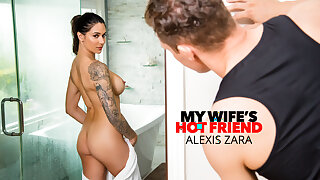 Naughty America - Alexis Zara fucks her trainer and finest friend